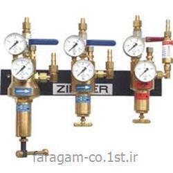 عکس رگولاتور (رگلاتور) فشار ( تنظیم کننده فشار )رگلاتور ( رگولاتور ) گاز نیتروژن  ازت  زینسر آلمان ZINSER