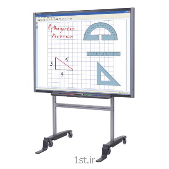 عکس تخته وایت بردوایت برد هوشمند میوا با ابعاد 78 اینچی (Meva Interactive White Board)