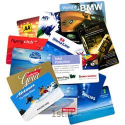 عکس سایر خدمات چاپچاپ کارت ویزیت PVC پی وی سی 300 میکرون
