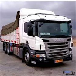 عکس باربری جاده ایحمل بار و اثاثیه منزل با کامیون از اصفهان