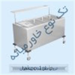 ترولی حمل غذا با پیشخوان