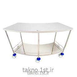 میز منحنی استیل اتاق عمل
