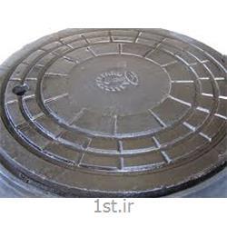 دریچه منهول چدنی ساده و لولا دار سایز 30 تا 80 سانت