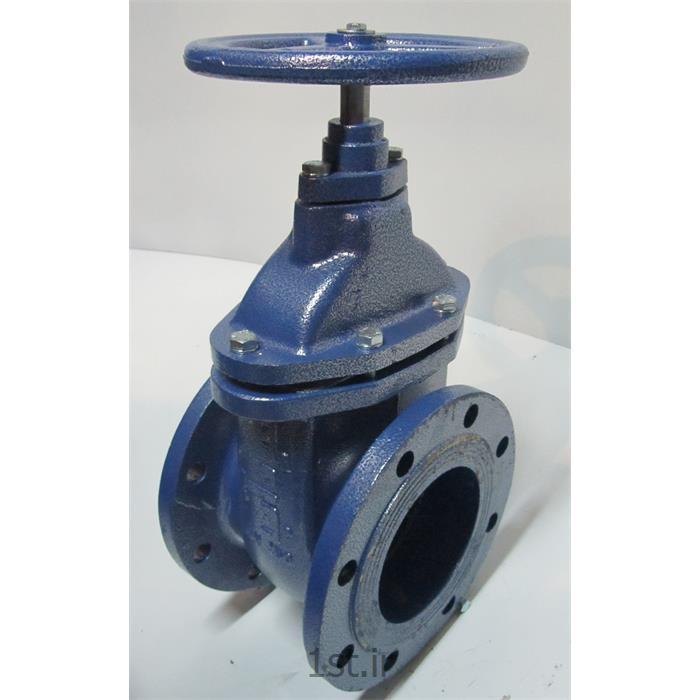 عکس شیر آبشیرآلات صنعتی کشویی زبانه چدنی میزان فشار ( PN 10 و PN 16 )