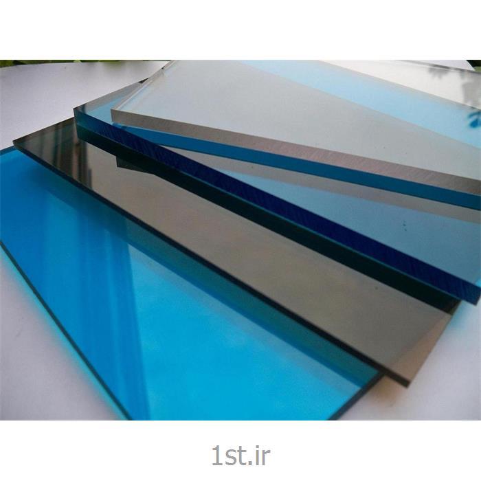 عکس ورقه پلاستیکیورق تخت پلی کربنات آمورف