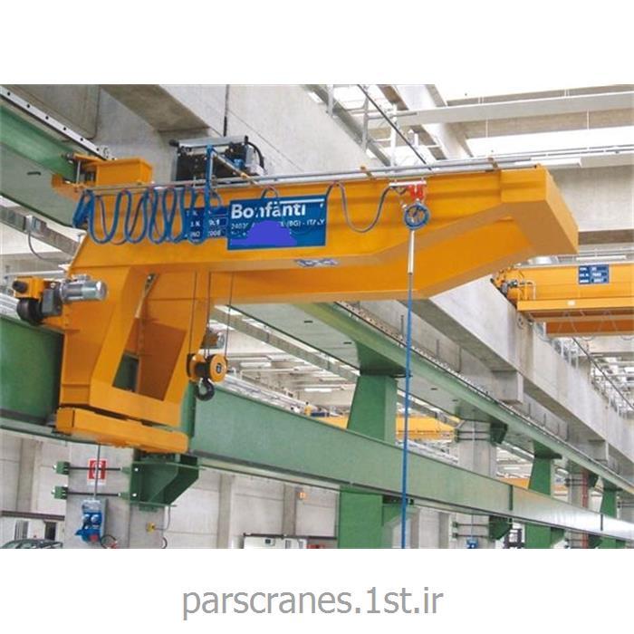جرثقیل بازویی دیواری برقی (Wall crane)