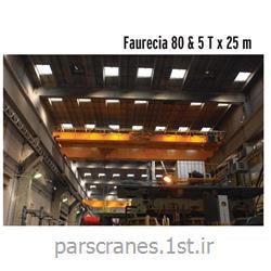 جرثقیل سقفی دو پل 80 تن