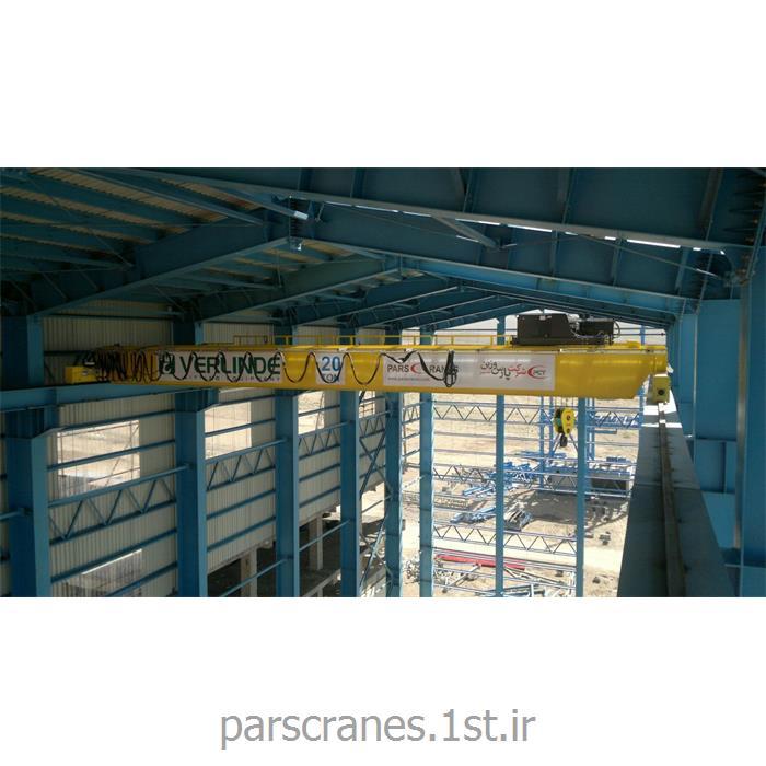 عکس جرثقیلجرثقیل سقفی دو پل 20 تن
