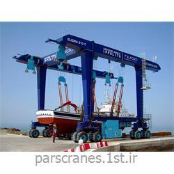 جرثقیل دروازه ای چرخ لاستیکی (RTG Crane)