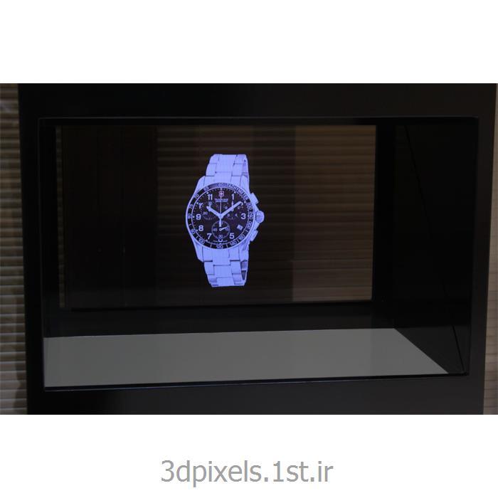 عکس پخش کننده های تبلیغاتی (Advertising Players)نمایشگر هولوگرافیک سه بعدی 24 اینچ قابل حمل ویترینی 3D Holographic