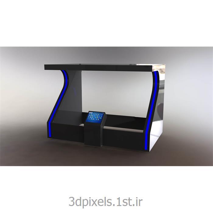 عکس پخش کننده های تبلیغاتی (Advertising Players)نمایشگر هولوگرافیک سه بعدی نمایشگاهی یک وجهی 3D Holographic