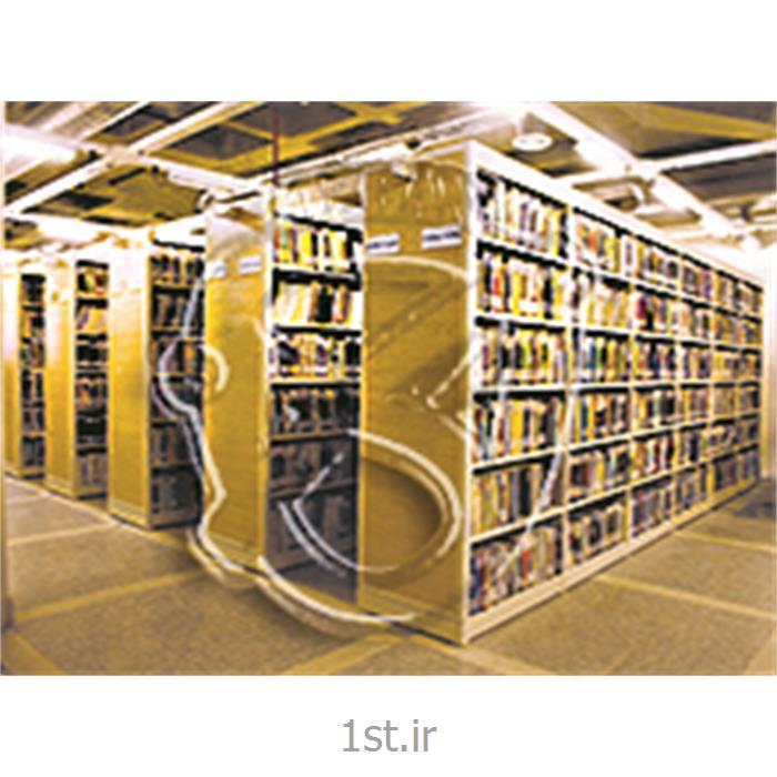 قفسه ثابت کتابخانه ای