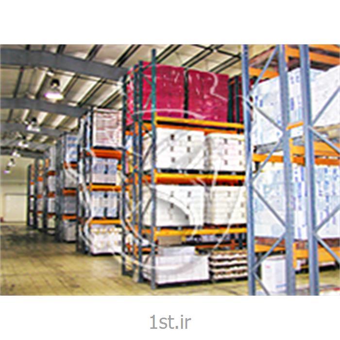 عکس قفسه و طبقات انبارقفسه بندی پانل راک انبار (Panel Rack)