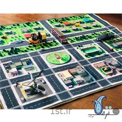 عکس سایر اسباب بازی و سرگرمی هافرش بازی کودک طرح شهر