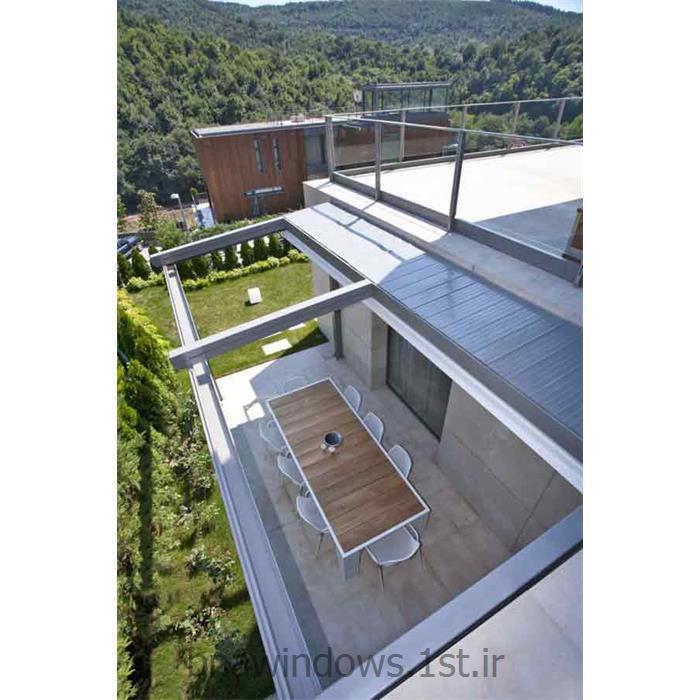 سقف های متحرک برقی پارچه ای مدل Eva بنا نقش ارس از شرکت بنا نقش ارسسقف های متحرک برقی پارچه ای مدل Eva بنا نقش ارس