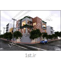 عکس طراحی ساختمانخدمات طراحی و نظارت ساختمان