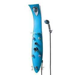 پانل دوش فایبر گلاس آبی موست مدلPA100