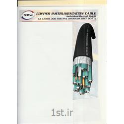 عکس کابل ابزار دقیق ( Instrumentation Cables )کابل ابزاردقیق چند زوج به هم تابیده آنالوگ فویل دار