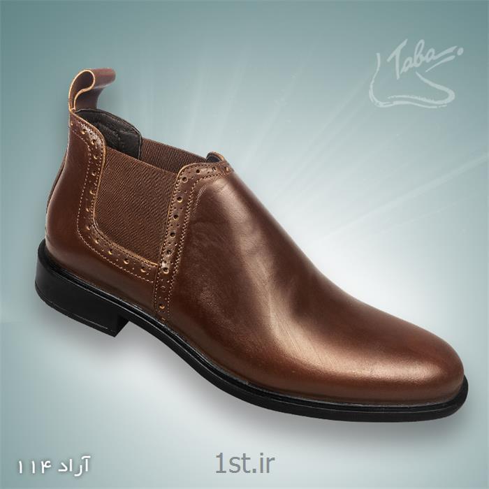 کفش تمام چرم آراد کد 114