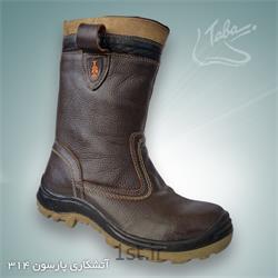 عکس کفش ایمنیچکمه ایمنی حفاری پارسون کد 314