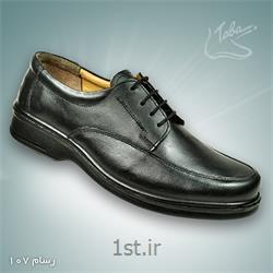 عکس کفش مجلسیکفش تمام چرم رسام کد 107