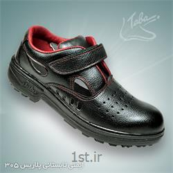 عکس کفش ایمنیکفش ایمنی تابستانی پلاریس کد 305