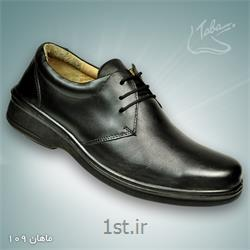 عکس کفش مجلسیکفش تمام چرم ماهان  کد 109