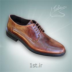 کفش تمام چرم  رومینا کد 104