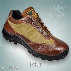 عکس کفش ایمنیکفش ایمنی دونا ساق کوتاه کد 307