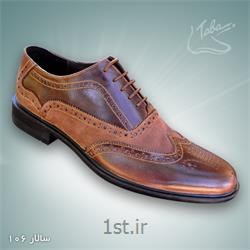 عکس کفش مجلسیکفش تمام چرم سالار  کد 106