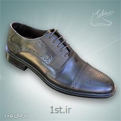 عکس کفش مجلسیکفش تمام چرم مارشال  کد 105
