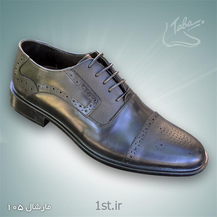 کفش تمام چرم مارشال  کد 105