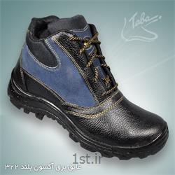 عکس کفش ایمنیپوتین ایمنی عایق برق آکسون ساق بلند کد 322