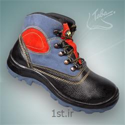 عکس کفش ایمنیپوتین ایمنی ساوالان ساق بلند کد 301