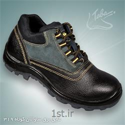 عکس کفش ایمنیکفش ایمنی عایق برق ساوالان ساق کوتاه کد 319