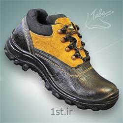 عکس کفش ایمنیکفش ایمنی ساوالان ساق کوتاه کد 302