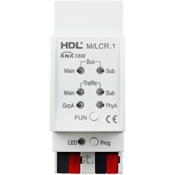 عکس تجهیزات ساختمانی هوشمند (خانه هوشمند)ماژول هوشمند متصل کننده خطوط KNX و BUS اچ دی ال (HDL)