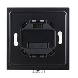 عکس تجهیزات ساختمانی هوشمند (خانه هوشمند)منبع تغذیه هوشمند کلیدهای وایرلس 1 کانال دیمری اچ دی ال (HDL)