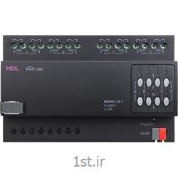 ماژول کنترل پرده برقی 4 کانال 10 آمپر هوشمند KNX اچ دی ال (HDL)