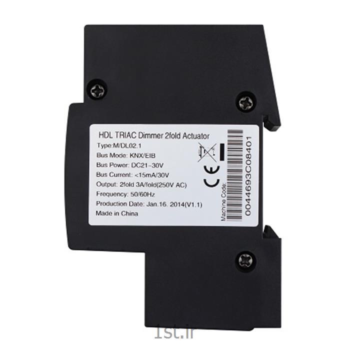 دیمر هوشمند 2 کانال 1 آمپرKNX اچ دی ال (HDL)