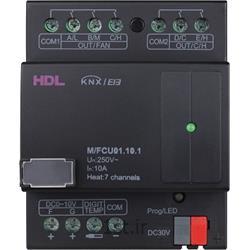 عکس تجهیزات ساختمانی هوشمند (خانه هوشمند)ماژول هوشمند کنترلی سیستم تهویه KNX اچ دی ال  (HDL)