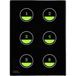 پنل کنترلی ساختمان هوشمند سری لمسی اچ دی ال (HDL)