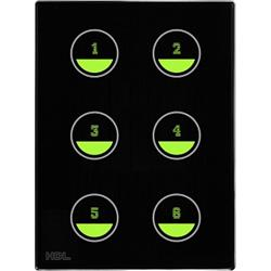 عکس تجهیزات ساختمانی هوشمند (خانه هوشمند)پنل کنترلی ساختمان هوشمند سری لمسی اچ دی ال (HDL)