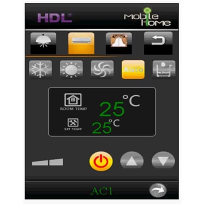 عکس تجهیزات ساختمانی هوشمند (خانه هوشمند)نرم افزارمانیتورینگ وب سرور سیستم هوشمند اچ دی ال (HDL Webserver)