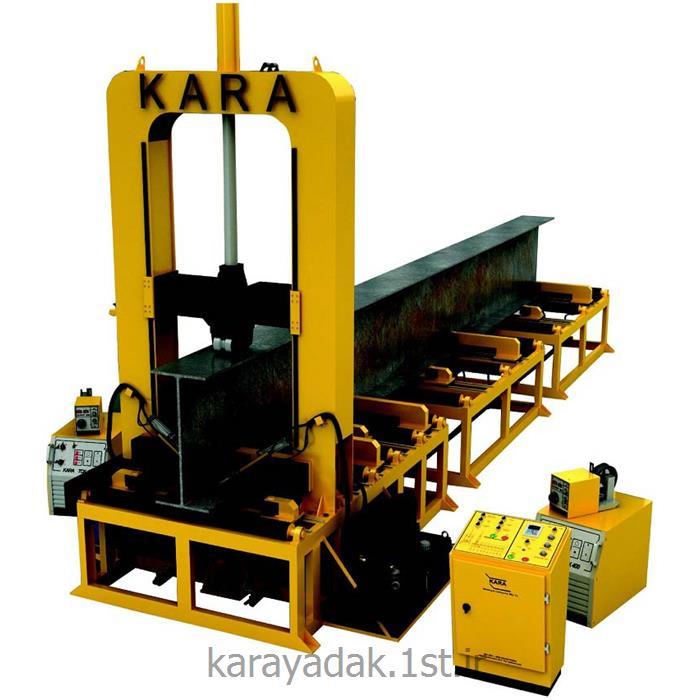 عکس سایر تجهیزات جوشکاریدستگاه مونتاژ عمودی تیرورق کارا مدل: KARA H-Beam Assembler
