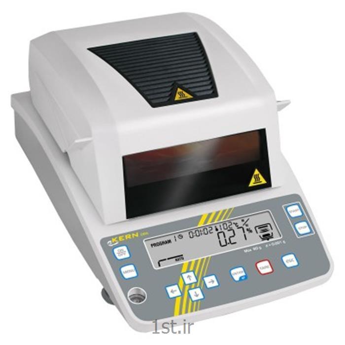عکس ترازوی آزمایشگاهترازوی رطوبت سنج مدل DBS-60  کرن