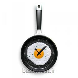 ساعت دیواری مخصوص آشپزخانه طرح ماهیتابه