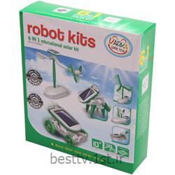 کیت آموزشی ساخت 6 روبات خورشیدی