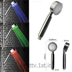 عکس شیرآلات دوش تلفنی حمامسردوش ال ای دی حمام LED حساس به دما اصل