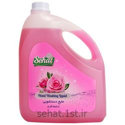 عکس مایع / صابون دستشوییمایع دستشویی صحت با رایحه گل رز (4000 گرم)